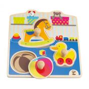 Hape E1301 My Toys Knob Puzzle