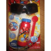Spider-man Bubbles with 3-d Glasses