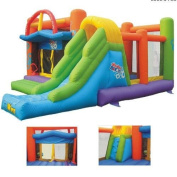 Double Shot Commercial Inflatable Bounce House