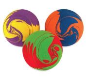 UltraFoam NoBounceBalls - Swirl Design, 10cm