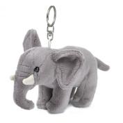 Wwf 15205024 Elephant Plush Toy Key Ring 10 Cm