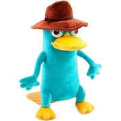 Disney Phineas and Ferb Perry Plush - 25cm mini bean Agent P Perry Stuffed Animal