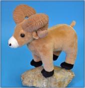 10'' Ram with Corduroy Horns Plush Stuffed Animal Toy