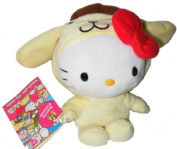 Hello Kitty Dressed as Purin Plush 18567
