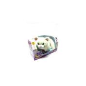 Catnip Kitties Plush Purring Cat Stuffed Animal Toy In White