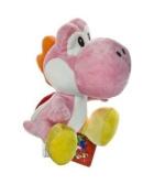 Nintendo Super Mario Bros. Wii Plush Toy - 15cm Pink Yoshi