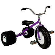 Dirt King Child's Dually Tricycle PURPLE