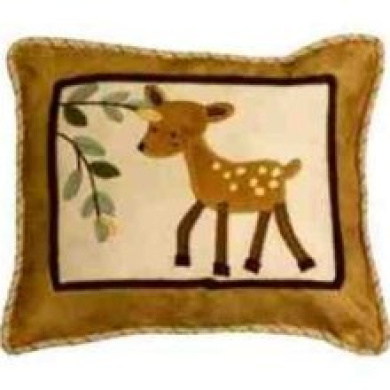 Lambs & Ivy Enchanted Forest Decorative Pillow (6303)