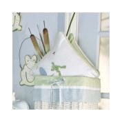 Brandee Danielle One Little Froggie Frog Decorator Throw Pillow