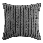 Woolrich Williamsport Square Pillow - Black/Grey -