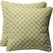 Pillow Perfect Decorative Square Toss Pillow (Set of 2) Colour