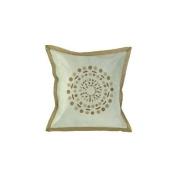 Surya PBST428-1818P 45.7cm . x 45.7cm . Poly-fibre Decorative Pillows - Sky