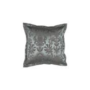 Surya PC1201-1818P 45.7cm . x 45.7cm . Poly-fibre Decorative Pillows - Steel Blue and Graphite
