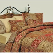 LCM Home Fashions, Inc. Amsterdam Chenille Three-Piece Throw Pillow Set