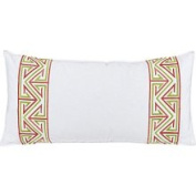 Trina Turk Bedding, 20 x 10 Embroidered Decorative Pillow