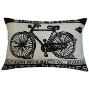 Koko Company 91573 Match Co. Bicycle Cotton Pillow