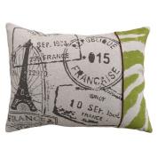 123 Creations Stamps 100% Linen Screen Print Pillow