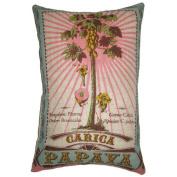 Koko Company 91804 Botanica Caica Papaya Decorative Pillow