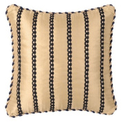 Jennifer Taylor Hampton 35.6cm Pillow with Braid and Cord