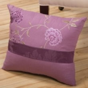 Sandy Wilson Daphne 40.6cm x 45.7cm Decorative Pillow with Embroidery