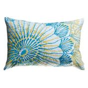 Koko Company 91940 Water Print Decorative Pillow