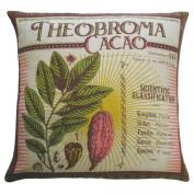 Koko Company 91801 Botanica Linen Theobroma Cacao Pillow