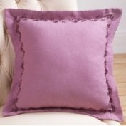 Sandy Wilson Daphne 45.7cm x 45.7cm Decorative Pillow with Embroidery