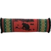 Wooded River Bear Neckroll Pillow