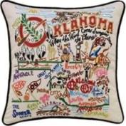 Cat Studio Oklahoma Throw Pillow