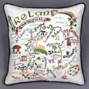 Cat Publishing Co. CatStudio Pillow - Ireland