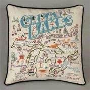 Cat Publishing Co. CatStudio Pillow - Great Lakes