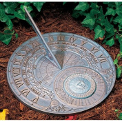 Whitehall Products 00166 Garden Accents Perpetual Calendar Sundial