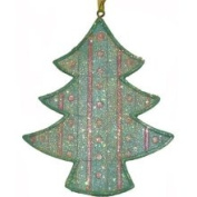 7.6cm Blue and Pink Pastel Iced Cookie Tree Christmas Ornament