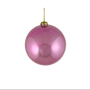 Shiny Pretty in Pink Shatterproof Christmas Ball Ornament 6""