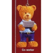 Russ Berrie Russ Very Beary Co-Worker Christmas Ornament #32008