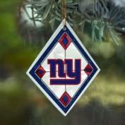 New York Giants Art Glass Ornament The Memory Company