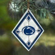 Penn State Nittany Lions Art Glass Ornament The Memory Company