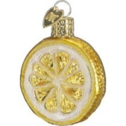 Old World Christmas Lemon Slice Ornament