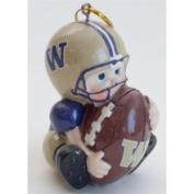 Washington Huskies Lil' Fan Football Player Acrylic Ornament