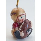 Scottish Christmas Florida State Seminoles (FSU) Lil' Fan Football Player Acrylic Ornament