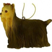 CC Home Furnishings 10.2cm Yorkshire Terrier Yorkie Dog Christmas Ornament