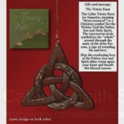 Abbey Press Trinity Knot Ornament and Message Card