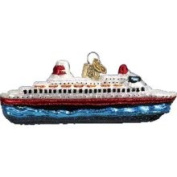Old World Christmas Ornament Cruise Ship