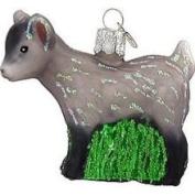 Old World Christmas Pygmy Goat Glass Ornament
