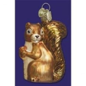 Old World Christmas Squirrel Glass Ornament