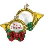 Old World Christmas Holiday Horn Ornament