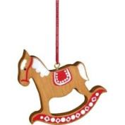 Christian Ulbricht Rocking Horse Ornament Colour