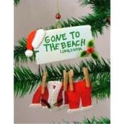Cape Shore Santa Claus Gone to The Beach Christmas Ornament