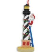Cape Shore Santa Hatteras Lighthouse Island Christmas Ornament
