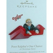 Poor Ralphie's One Chance A Christmas Story 2010 Hallmark Ornament